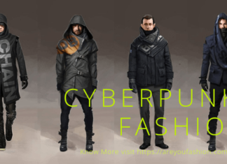 Cyberpunk fashion Men