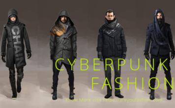 Cyberpunk fashion Men