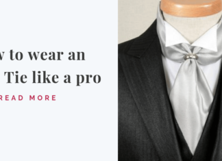 Wear an Ascot Tie like a pro_