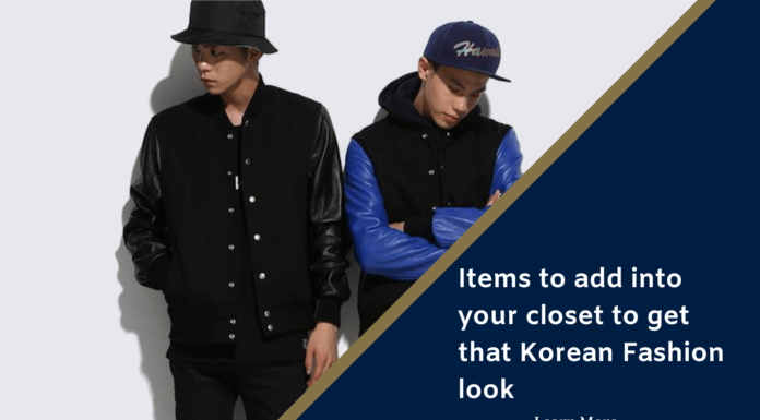 Korean Fashion Men