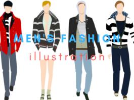 menswear fashion illustration