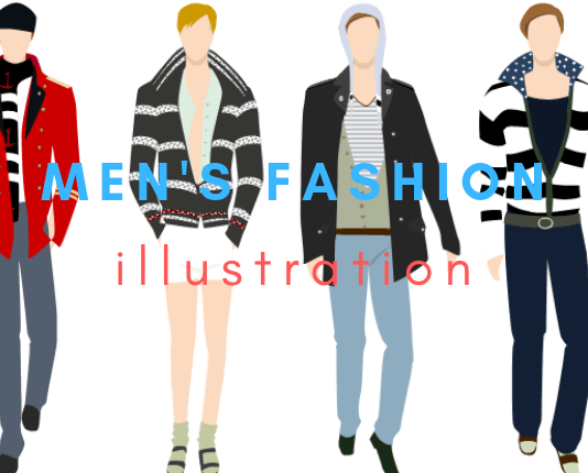 menswear fashion illustration